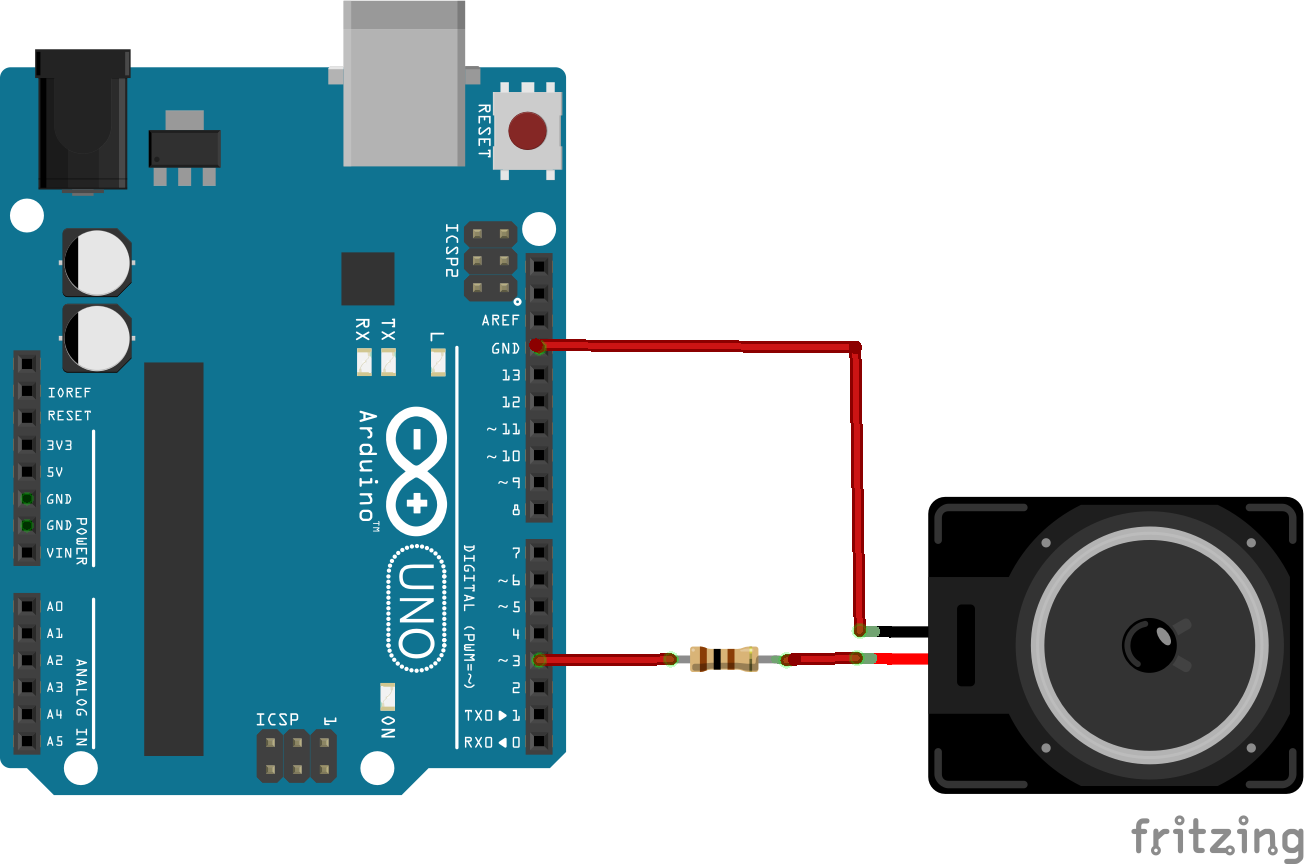 Arduino And Speaker Example Arduino Learning