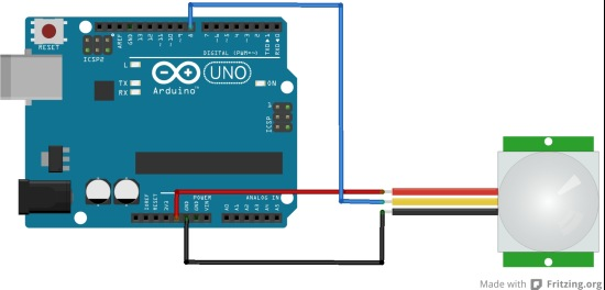 arduino and PIR
