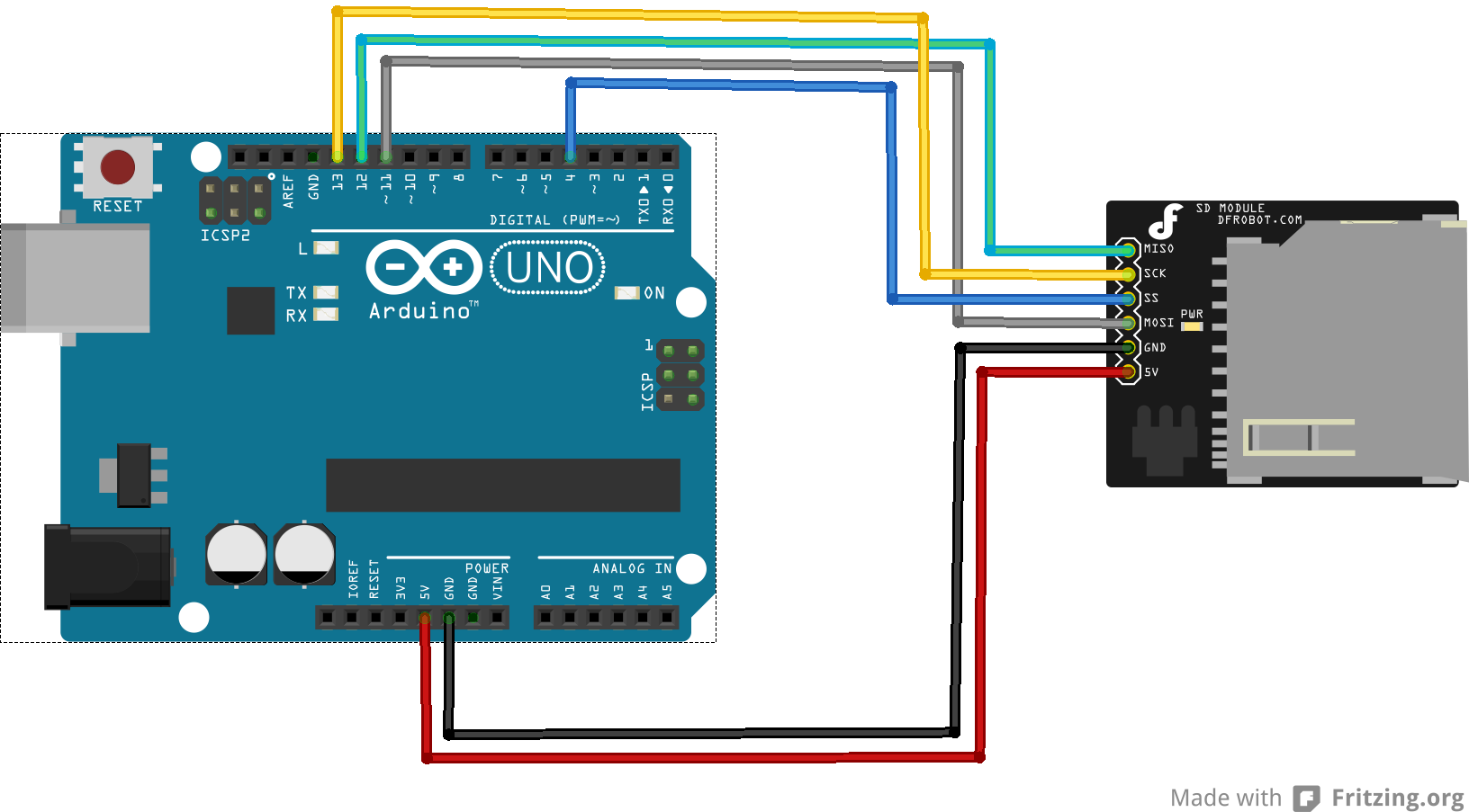Interpreter for arduino page