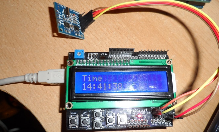 LCD clock project - Arduino Learning