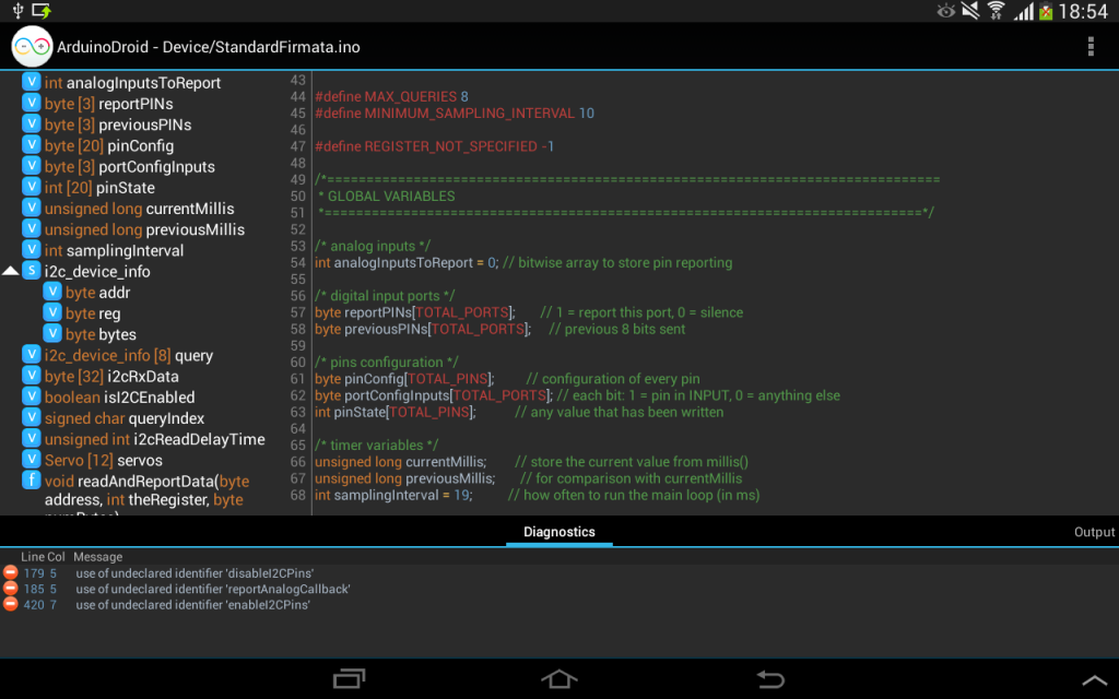 Arduino ide download for android