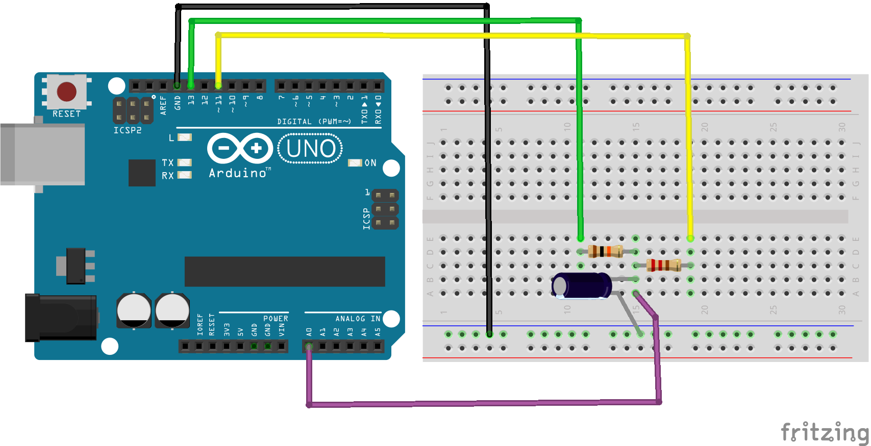DIY wattmeter with an Arduino - Arduino Pinterest