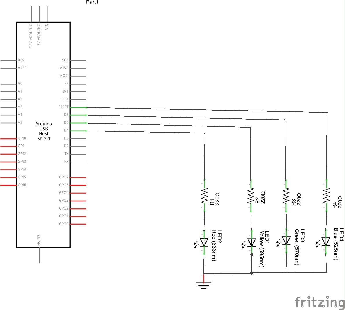 Usb Host shield and XBox joypad example - Arduino Learning