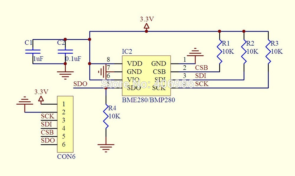 bme280 module schematic bme280 sensor example arduino learning Arduino Uno Wiring-Diagram at panicattacktreatment.co