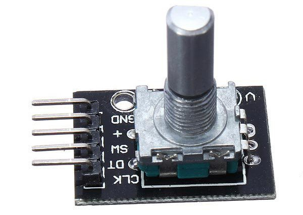 Arduino and a rotary encoder example - Arduino Learning
