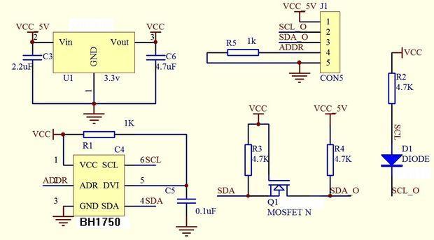 bh1750-module-schematic