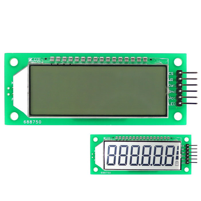 5 Digit 7 segment Display,