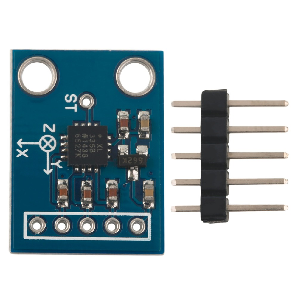 Arduino And Adxl335 Accelerometer Example Arduino Learning
