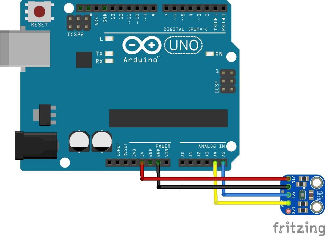 arduino and veml6070