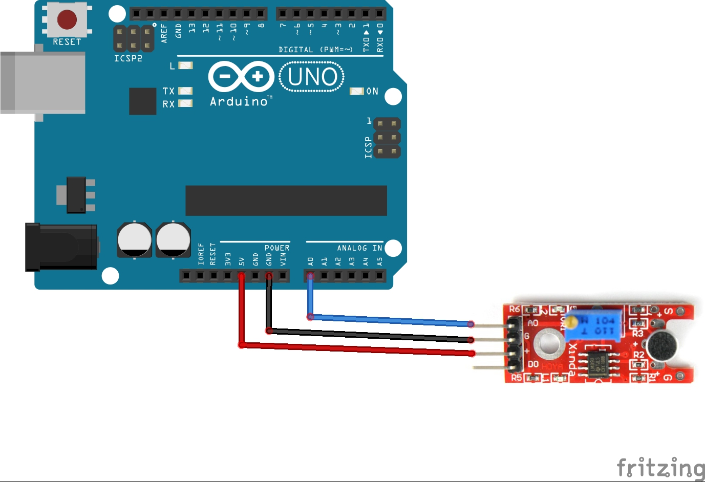Ky038 Microphone Module And Arduino Example Arduino Learning