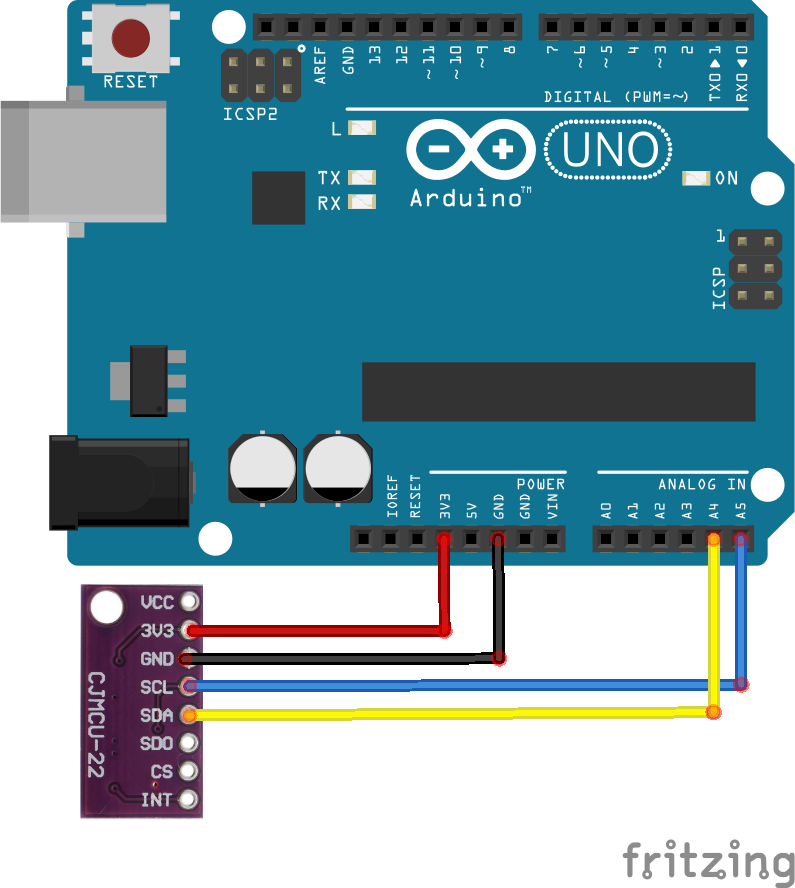 arduino and LPS22HB