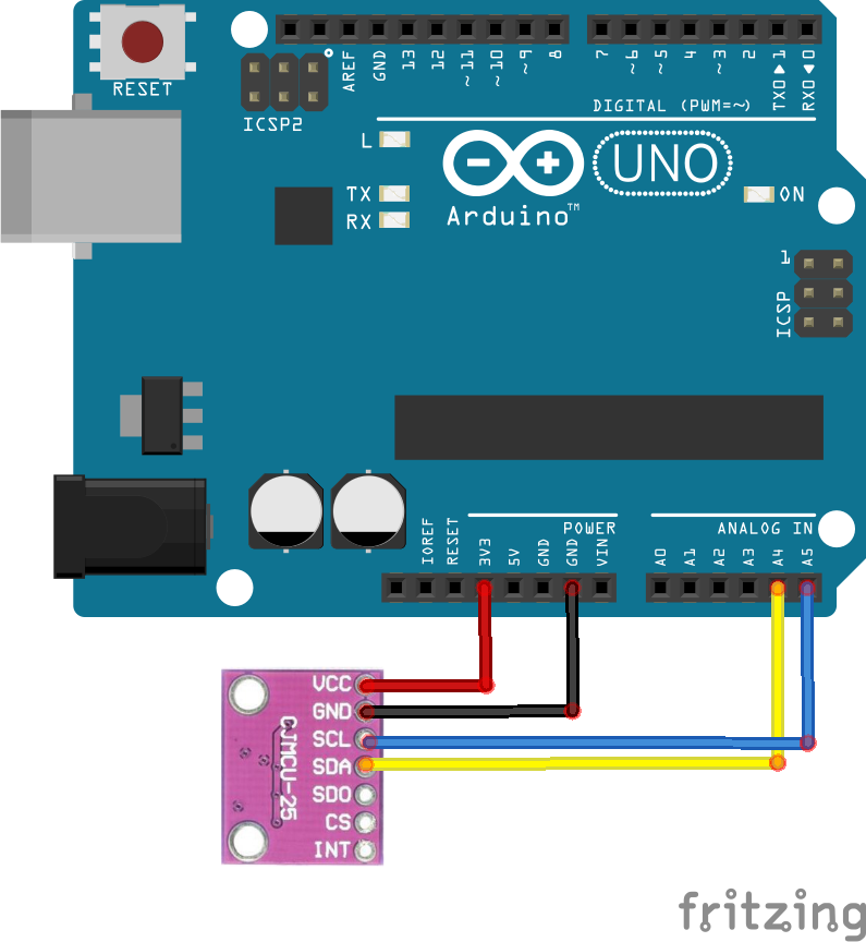 arduino and LPS25H