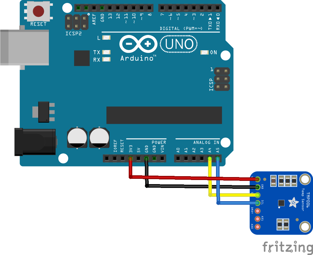 Arduino and TMP006