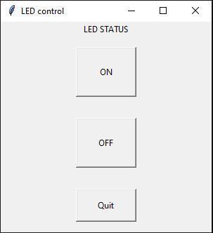 led control gui